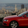 2009 A4 2.0T : 2009 Audi A4 2.0T with quattro all-wheel drive and the prestige package in Brilliant Red.  She replaces an '06 A4